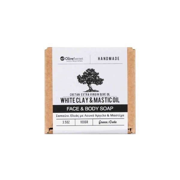 white clay soap